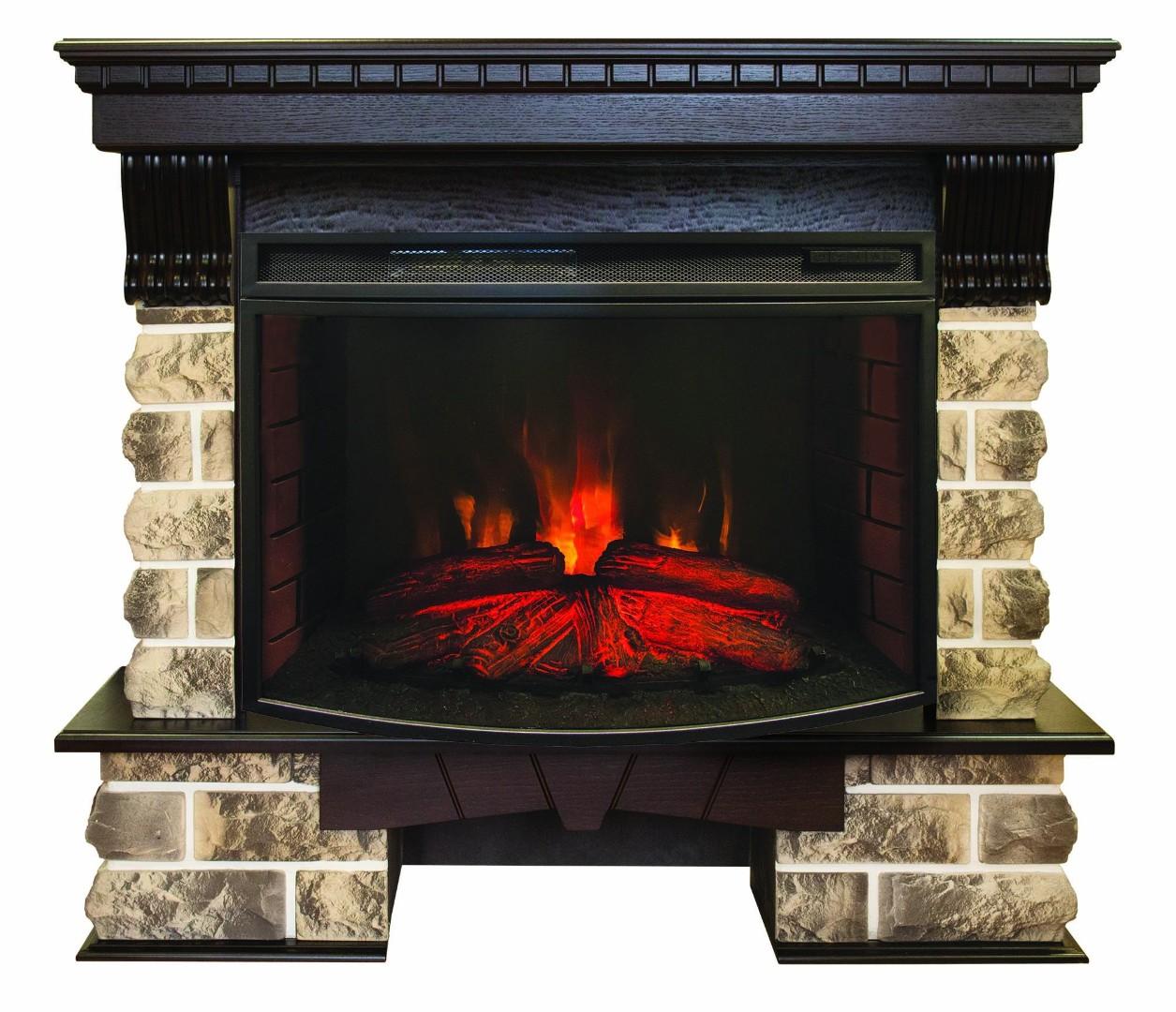 Каминокомплект RealFlame Kansas  AO c FireSpace 33 S IR (в наличии и под заказ)